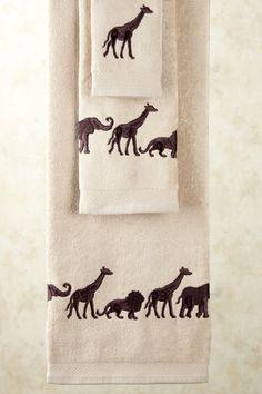 Towels Of The Wild On Pinterest Towel Set Bath Towels