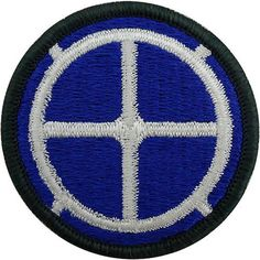 35th Infantry Division Class A Patch