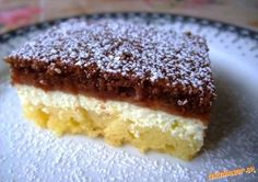 Myslíme si, že by sa vám mohli páčiť tieto piny - sbel Sweet Desserts, Sweet Recipes, Czech Recipes, Sponge Cake, Something Sweet, Nutella, A Table, Bakery, Cheesecake