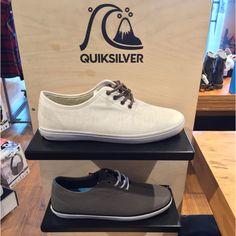 Unos clásicos para tardear #ZapatosQuik #Quiksilver #Colombia