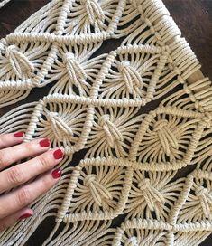 I just really like my nails today . . . #macrame #macrameart #macramelove #macramedecor #modernbohemian #modernboho #weaving…