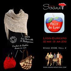 Soane So Natural à la foire de Lyon 2013