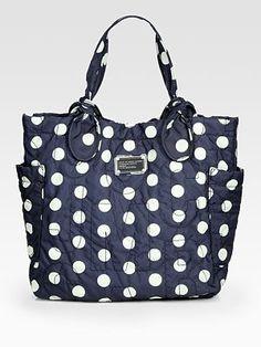 Marc by Marc Jacobs  Pretty Nylon Printed Tote Bag... I want one of these sooooooo bad for school!!!