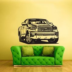 Wall Vinyl Sticker Decals Decor Art Bedroom Design Mural Auto Car Truck Garage Tundra Z2416 >>> This is an Amazon Affiliate link. Read more reviews of the product by visiting the link on the image.