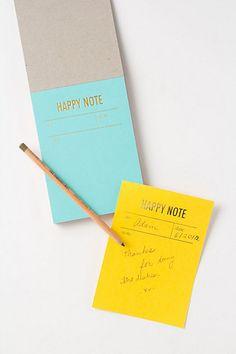 [anthropologie] Tokketok Happy Notes!!! [I am so proud of my friend Joke, who is the amazing designer behind Tokketok!]