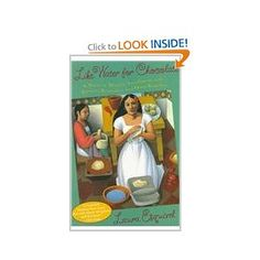 love and food in the book like water for chocolate by laura esquivel Editorial reviews from publishers weekly each chapter of screenwriter  esquivel's utterly  laura esquivel (author)  like water for chocolate, a  poignant love story told from a woman's point of view, takes  the cookbook  blends well with the plot as each food that tita is making leads into the topic of a  certain chapter.