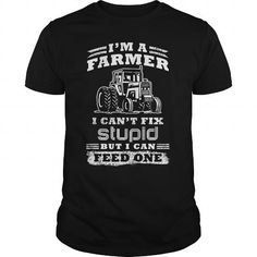 Make this awesome Farmer shirt Farmer fix stupid as a great gift Shirts T-Shirts for Farmers