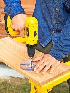 If youre trying to drill perfectly perpendicular holes through a piece of wood and finding yourself continually frustrated, try one of these quick hacks.