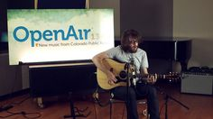 """OpenAir Studio Session: Cloud Nothings """"Now Hear In"""" (Dylan Baldi solo)"""
