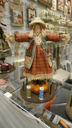 cutest scarecrow ever!