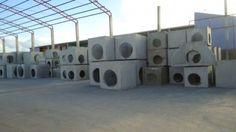 Pré-moldados em concreto usinado:• Caixas para drenagem• Caixas para Elétrica e telefonica• Muro pré-moldado