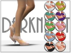 Sims 4 CC's - The Best: Shoes by DarkNighTt