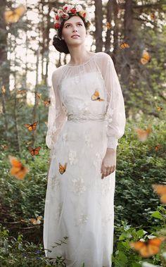 Modern wedding dress idea; Featured Photographer: This Modern Romance