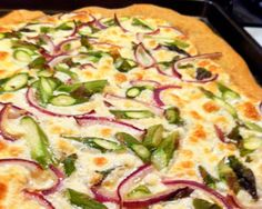 Asparagus Pizza | The Daily Meal