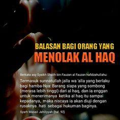 Follow @NasihatSahabatCom http://nasihatsahabat.com #nasihatsahabat #mutiarasunnah #motivasiIslami #petuahulama #hadist #hadits #nasihatulama #fatwaulama #akhlak #akhlaq #sunnah  #aqidah #akidah #salafiyah #Muslimah #adabIslami #DakwahSalaf # #ManhajSalaf #Alhaq #Kajiansalaf  #dakwahsunnah #Islam #ahlussunnah  #sunnah #tauhid #dakwahtauhid #Alquran #kajiansunnah #salafy #balasan #hukumanmenolakkebenaran #tolakalhaq #menolakalhaq #rusaknyahati