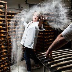 """Muriel, Boulangère/ Pâtissière chez Carrefour Etampes : """"Ce sont tous les jours que les Femmes sont importantes"""" - Journée des Droits de la Femme"""