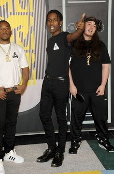 ASAP Rocky At MTV Movie Awards 2015