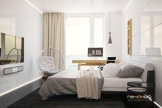 Дизайн спальни, интерьер спальни, bedroom design - Студия дизайна Антона Печёного