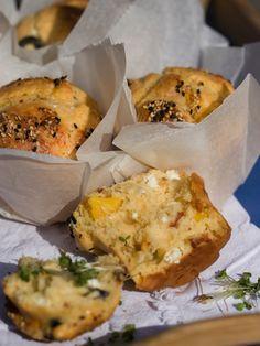 Fluffig, saftig, salzig – das Prinzip herzhafte Muffins | fressen und gefressen werden