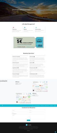 Sitio web desarrollado con html