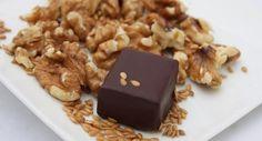 VEGAN DARK CHOCOLATE WALNUT FLAXSEED CRUNCH 6-PIECE BOX by NICOBELLA ORGANICS on @UDKitchen http://undiscoveredkitchen.com a digital farmers' market for specialty, small batch food!