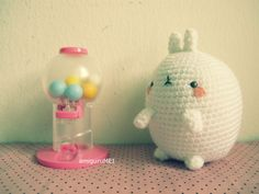 Molang the fat rabbit free amigurumi pattern - this lovely website has several really cute free patterns!
