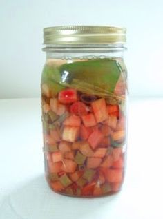 Sophisticated Peasant: Fermented Rhubarb (savory) For next spring....