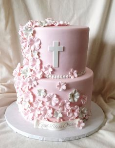 Mick's Sweets - Christening cake