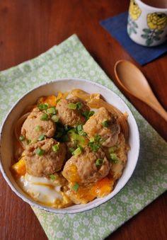 ふんわり鶏団子の親子丼 by 楠みどり | レシピサイト「Nadia ...