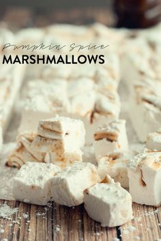 Pumpkin Spice Latte Marshmallows | 15 Insanely Delicious Pumpkin Spice Latte-Flavored Desserts