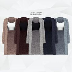 Long Cardigan for The Sims can find The sims and more on our website.Long Cardigan for The Sims 4 The Sims 4 Pc, Sims Four, Sims 4 Mm, Maxis, Los Sims 4 Mods, Sims 4 Game Mods, Sims 4 Mods Clothes, Sims 4 Clothing, Teens Clothes