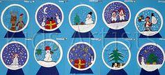 snow globes - 2nd grade!