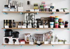 The team behind the Brunswick East Project, Padre and League of Honest Coffee have a new outpost at Queen Victoria Market. Queen Victoria Market, Floating Shelves, Marketing, Coffee, Home Decor, Fathers, Homemade Home Decor, Wall Mounted Shelves, Wall Shelves