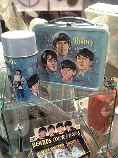 Beatles Memorabilia Photo Shoot - Photos By Jean Rabik Phelps Beatles Meme, The Beatles, Beatles Poster, Baby Boomer Era, Band On The Run, John Lennon Paul Mccartney, Worst Album Covers, Vintage Lunch Boxes, Bad Album