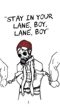 Twenty One Pilots: Lane boy . Visit: TwentyOnePilots.com . Stay Alive