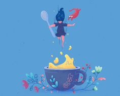 Drink well, have well on Behance