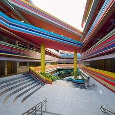 Nanyang Primary School (Singapur), diseño del estudio de arquitectura Studio55. TENMAG Web March  2016