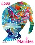 Manatees of Many Colors Crazy Cat Lady, Crazy Cats, Sea Cow, Manatees, Wildlife Art, Whimsical Art, Dog Art, Sea Creatures