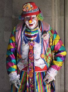 Clown by e³°°°, via Flickr