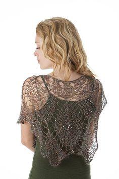 beautiful!  Ravelry: Sparkling Lace Leaf Shawl I227 pattern by Iris Schreier