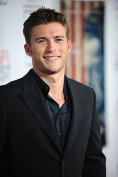 Scott Eastwood (dad is Clint Eastwood), I have never seen his son but there is no doubt who his father is by looking at him!