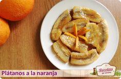 Plátanos a la naranja, postre afrodisíaco -  Vamos a empezar la semana con algo dulce, un postre muy fácil de hacer, rápido, que incluye fruta y tiene un toque muy exótico. Por si fuera poco, su presentación es de diez y con él podremos quedar como reyes en cenas familiares o con amigos. ¿Qué más podemos pedir?. Las posibilidades de este s... - http://www.lasrecetascocina.com/2013/09/23/platanos-la-naranja-postre-facil-y-muy-chic/