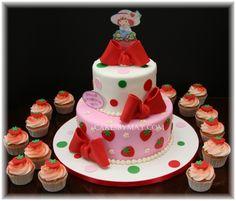 strawberry shortcake birthday party ideas   Pin Strawberry Shortcake Kids Birthday Theme Party Decoration Ideas ...