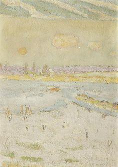 Winter Landscape, Cuno Amiet, s.d.