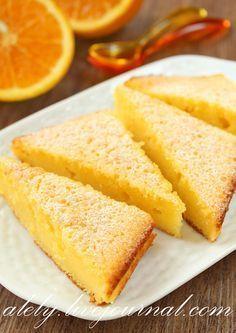 Сочный апельсиновый пирог - Today is a beautiful day!