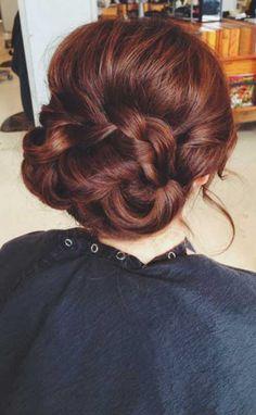 24.Dark Auburn Hair