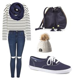 """""""Today"""" by tania-alves ❤ liked on Polyvore featuring J.Crew, BP., Topshop, Keds, BCBGMAXAZRIA, women's clothing, women's fashion, women, female and woman"""
