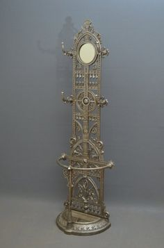 Excellent Cast Iron Hall Stand on AntiqueForSale from Nimbus Antiques