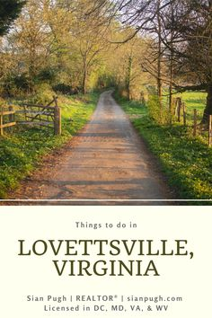 Next time you find yourself in Lovettsville, Virginia, make sure you don't miss these places and things to do. #lovettsville #thingstodo #loudouncounty #northernvirginia Leesburg Va, Fairfax County, Loudoun County, Northern Virginia, Great Places, Beautiful Homes, Things To Do, Country Roads, Community