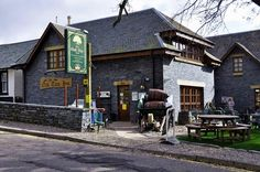 Oak Tree Inn, Balmaha. Great pub at Loch Lomond.